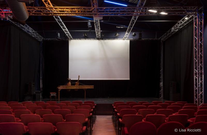 Salle Léo Ferré © Lisa Ricciotti