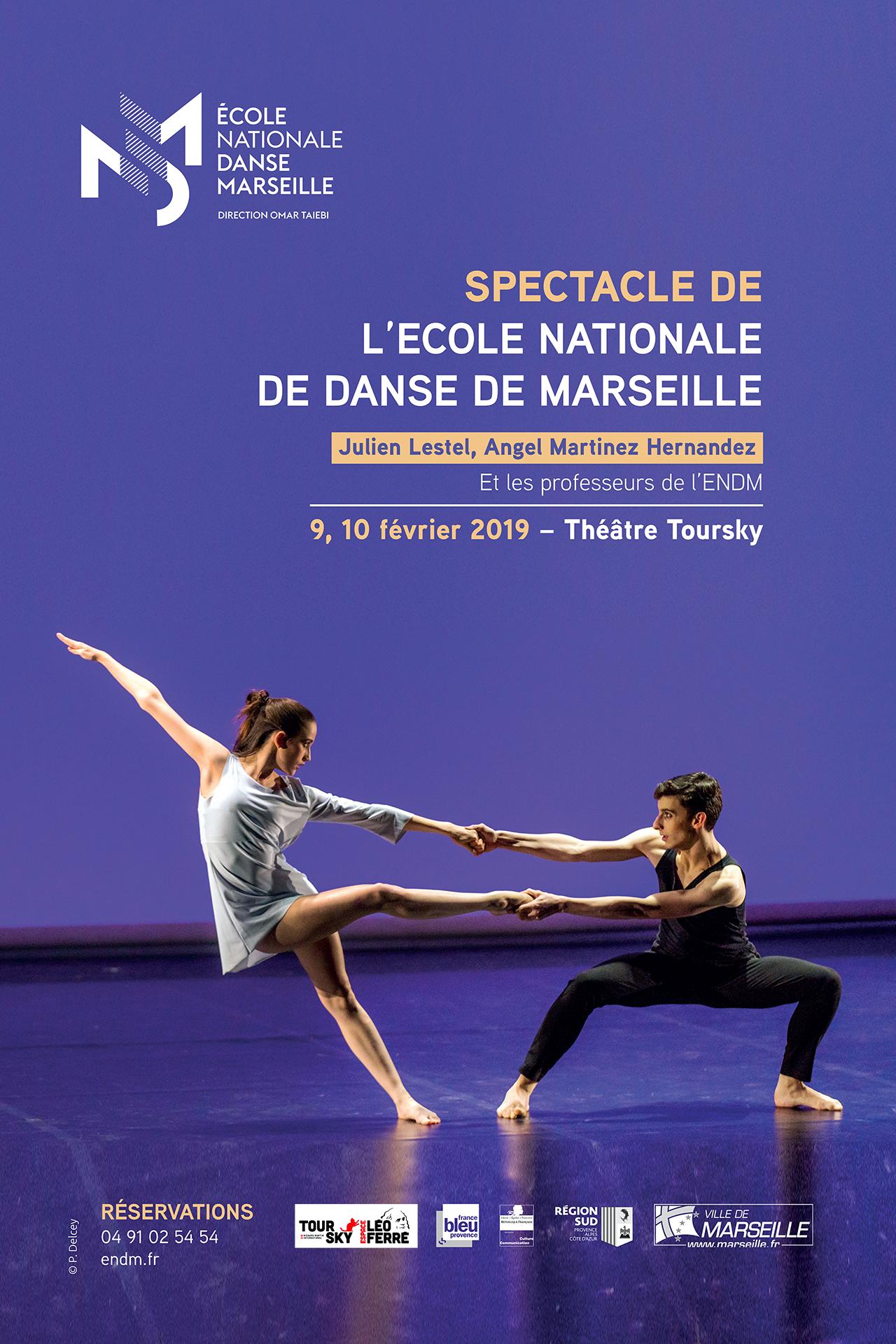 Spectacle de l'Ecole Nationale de Danse de Marseille