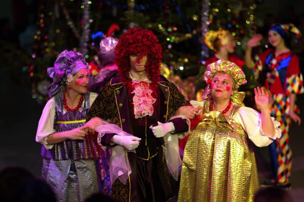 Spectacle Nouvel an russe